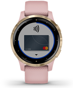 vivoactive 4S. Garmin Pay