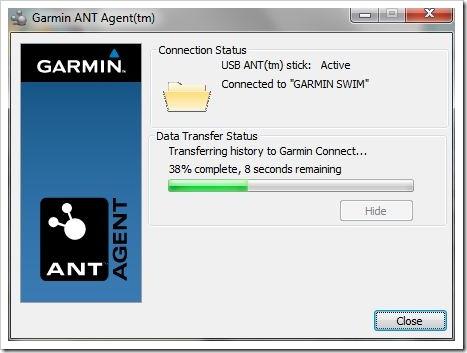 Garmin ANT Agent