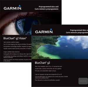 Новые морские карты Garmin 2010 BlueChart g2 и BlueChart g2 Vision доступны для заказа