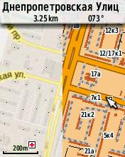 На стыке карт: растровая (слева) и векторная Дороги России (справа)