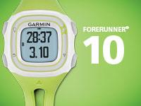 Garmin  Forerunner 10 - мини-сайт