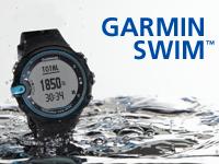 Garmin Swim - мини-сайт