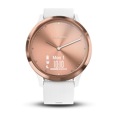 Garmin vivomove HR Sport Rose Gold White Small/Medium